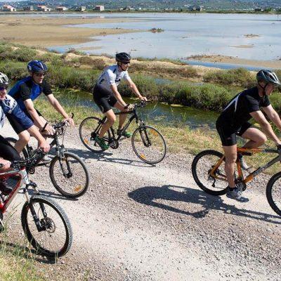 cycling saltpans
